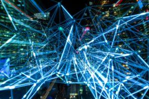Imagem com várias informações que parecem ser relacionadas à informática na tela